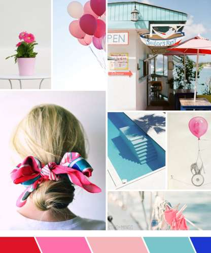 Inspiration board, sailing, summer, Sailing the British Islands, color palette, mood board