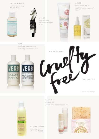 Cruelty free products_favorites_natural organic
