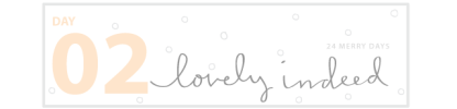 lovely indeed_24 merry days_giveaway